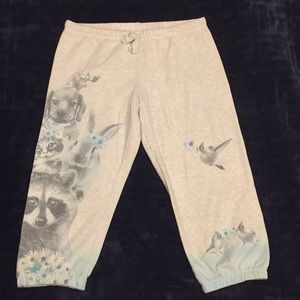 Justice cropped sweatpants (Girls)